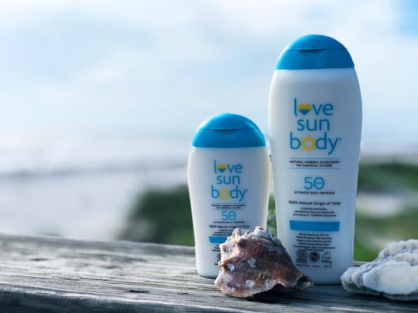 sun love body sunblock sunscreen