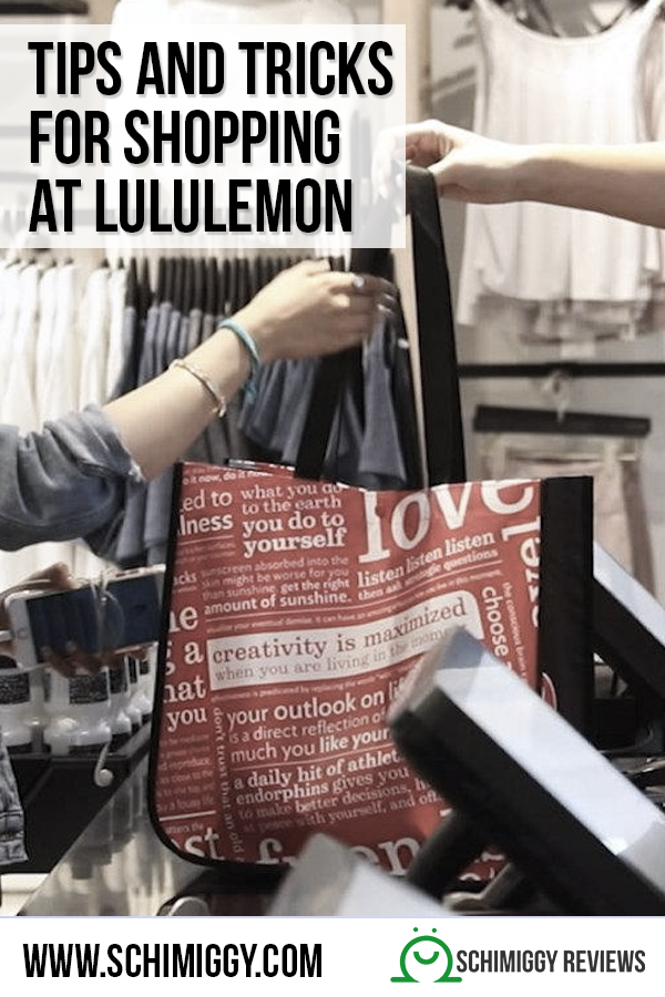 tips and tricks for shopping at lululemon schimiggy reviews