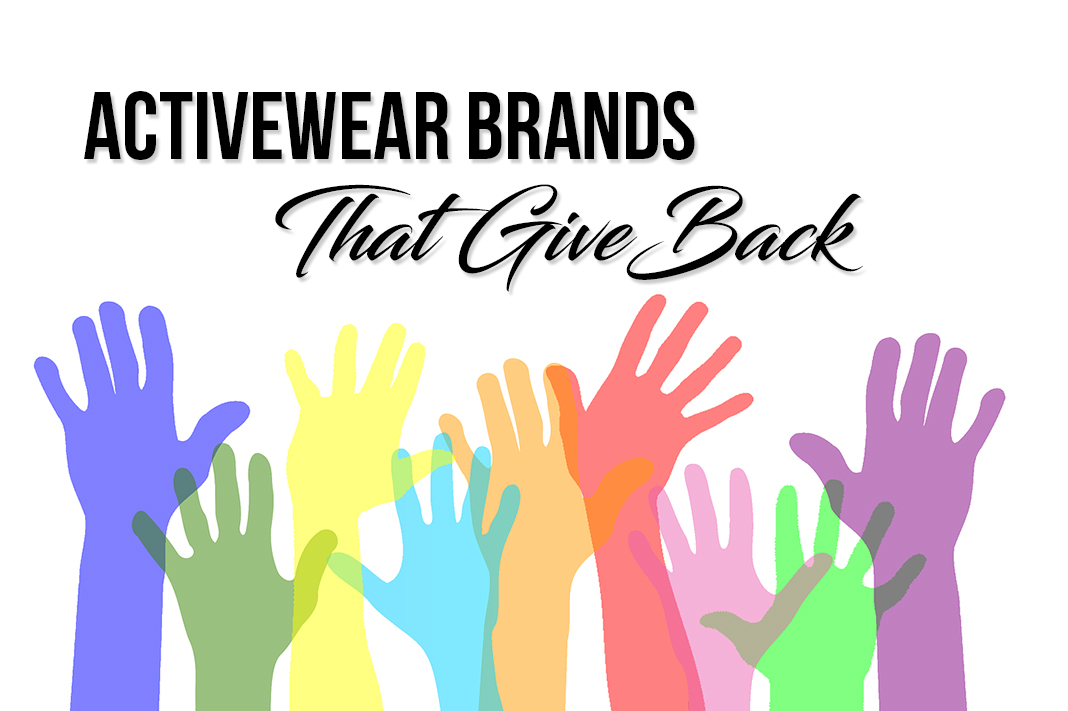 activewear brands that give back to charity