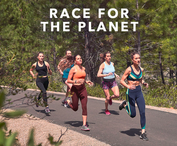 athleta race for the planet challenge for charity