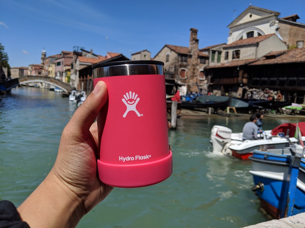 eco-friendly travel reusable drink container