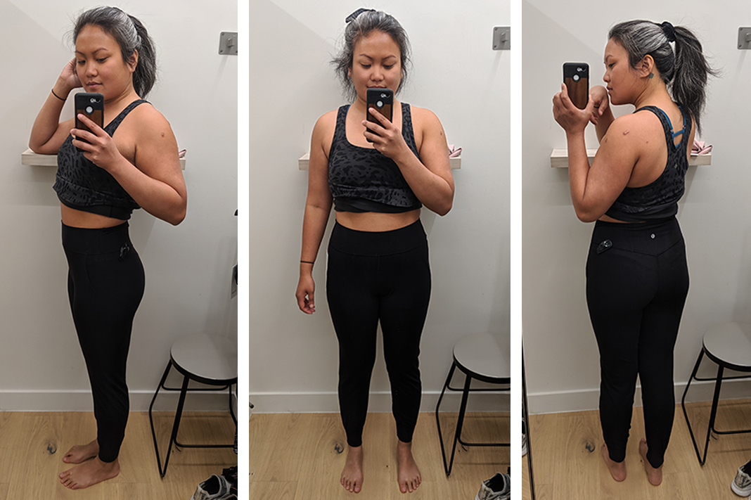 lululemon align jogger fitting room try on schimiggy reviews