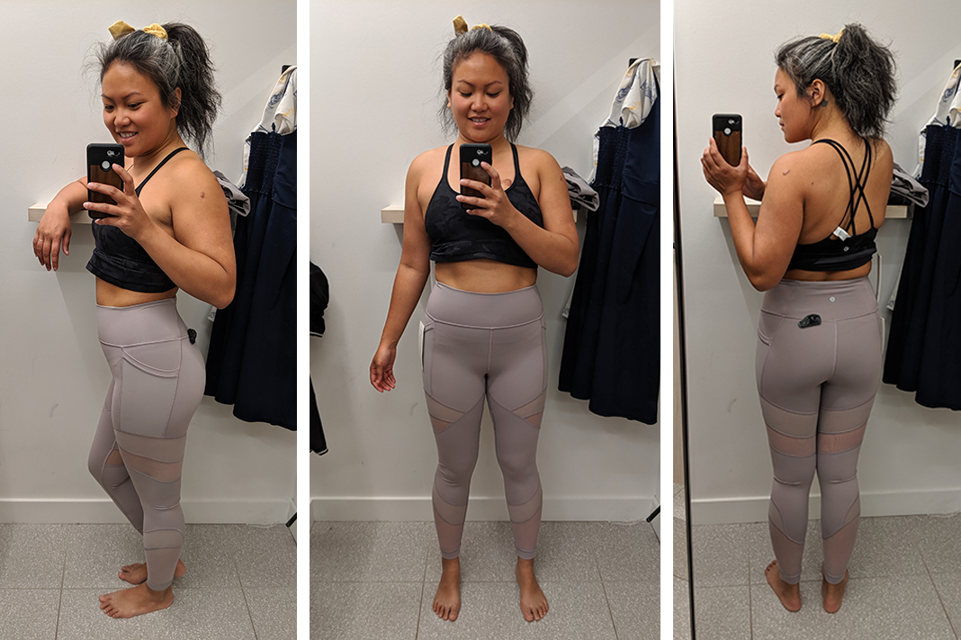 lululemon forget the sweat tight try on schimiggy reviews