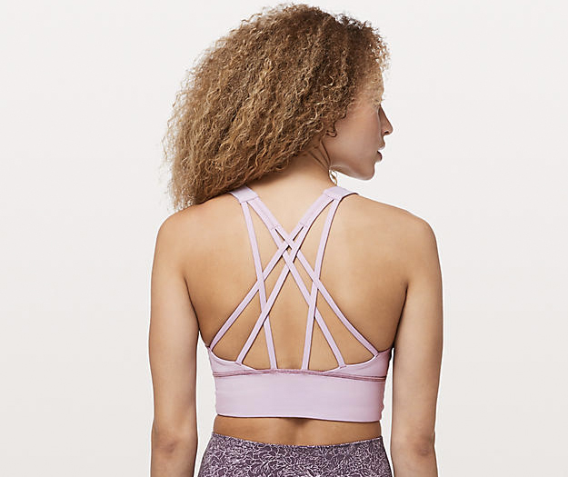 lululemon free to be serene long line sports bra