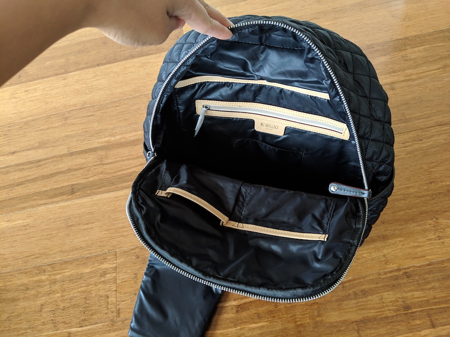 mz wallace backpack review crosby travel bag inside