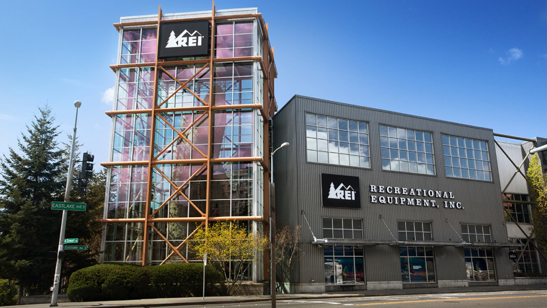 rei store front seattle washington
