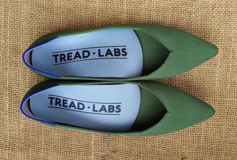 rothys point shoes with tread labs short insoles
