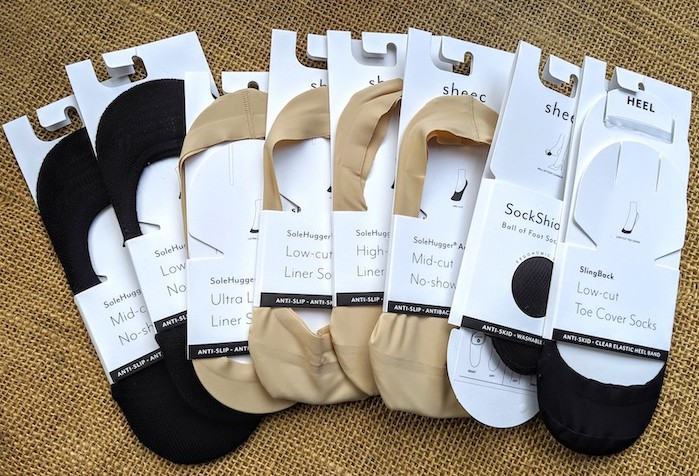 sheec low profile socks for rothys point and flats