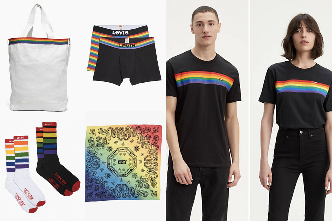 levi's rainbow lgbtq pride apparel and gear 2019