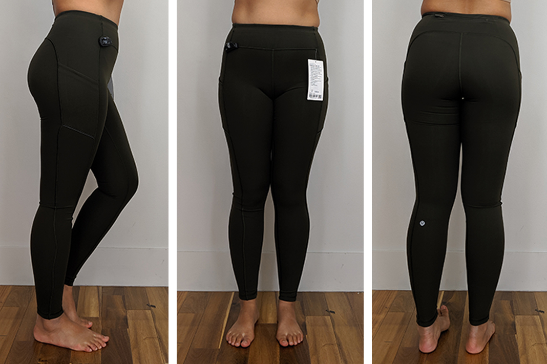 lululemon Speed Up Tight 28 dark olive leggings