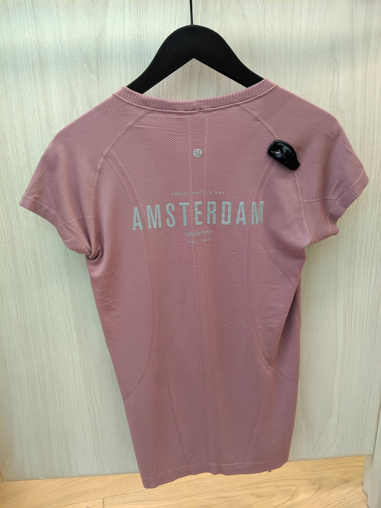 lululemon amsterdam store and product photos location swiftly short sleeve top