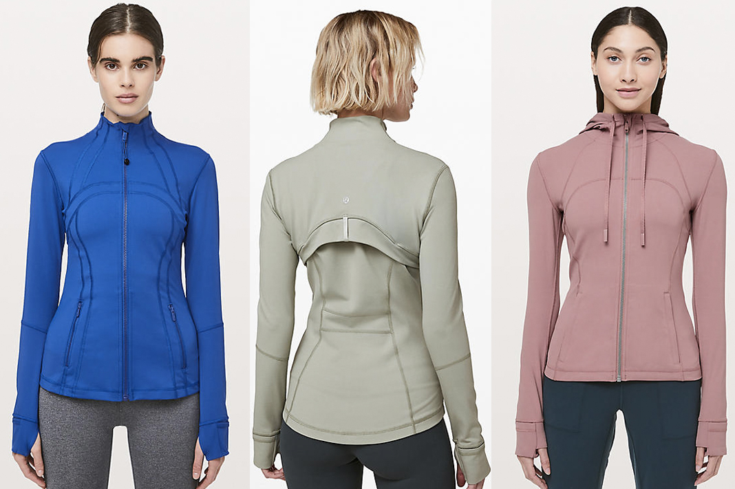 lululemon core item define jacket and hoodie