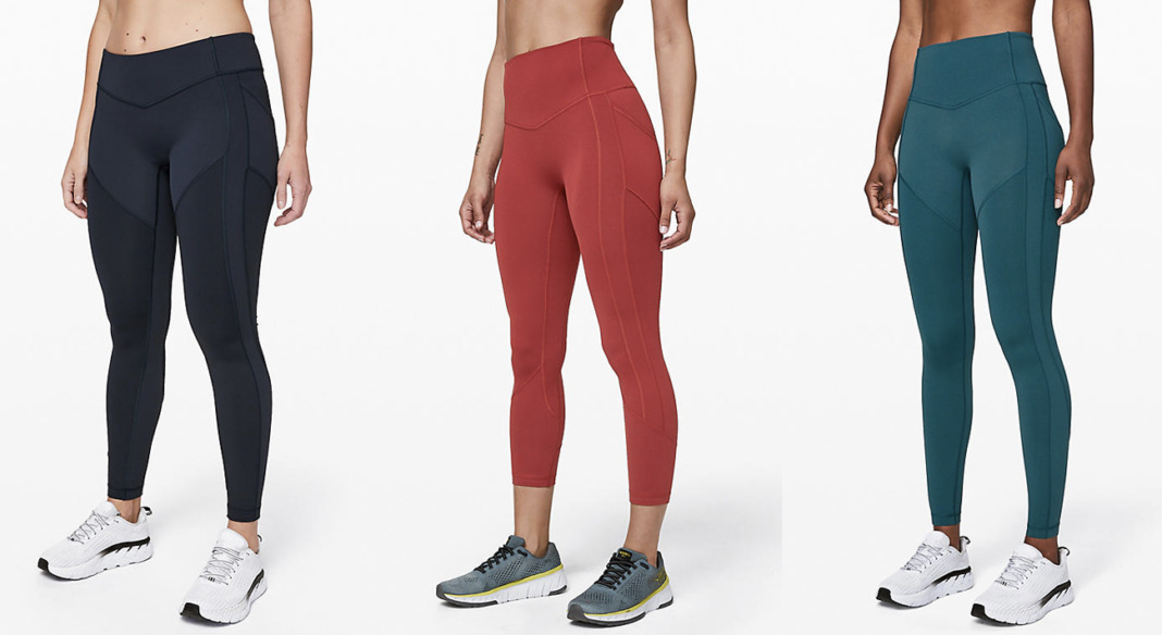 lululemon core product all the right places tight