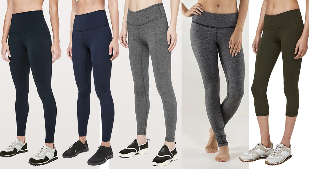 lululemon wunder under pant variations