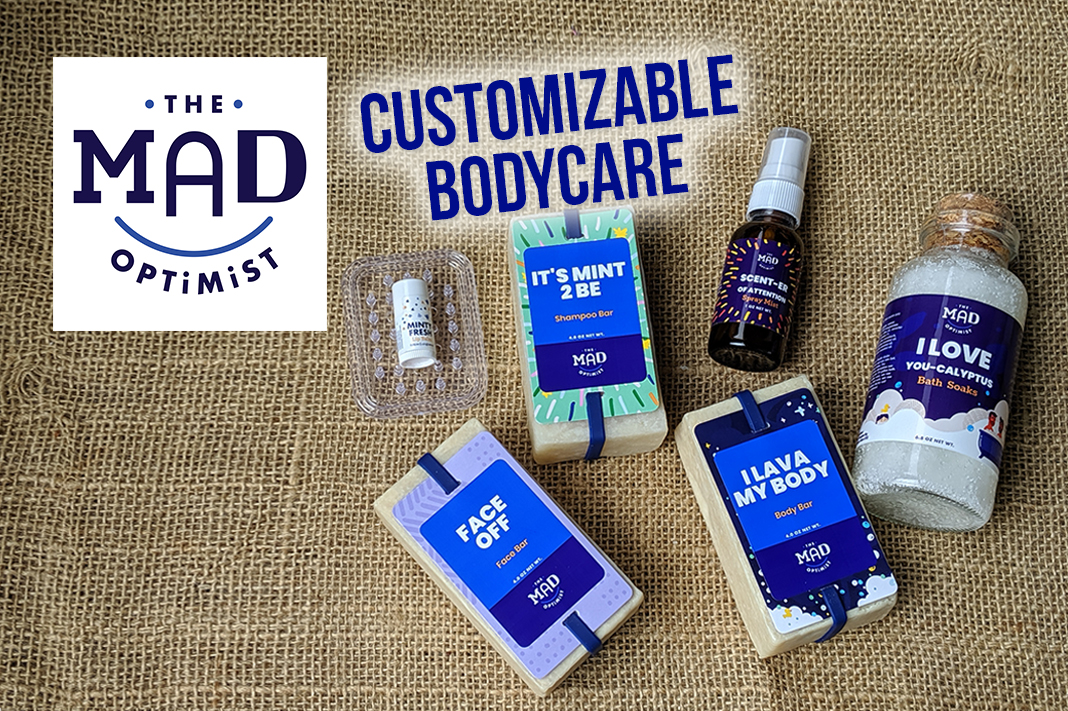 mad optimist review customizable personalized inclusive bodycare