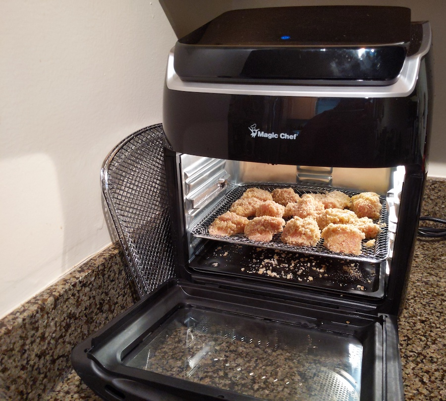 making chicken nuggets in magic chef air fryer