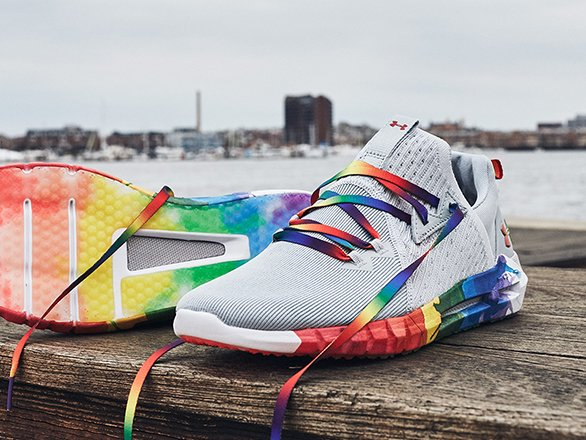 under armour rainbow pride shoes lgbtq