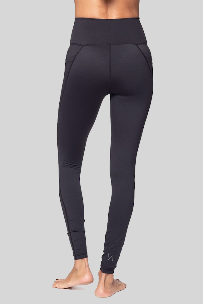 vie active lili leggings black back