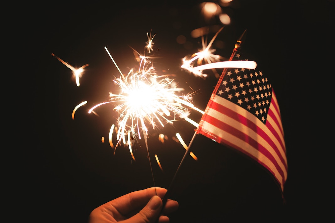 4th of july flag and fireworks sale and deals