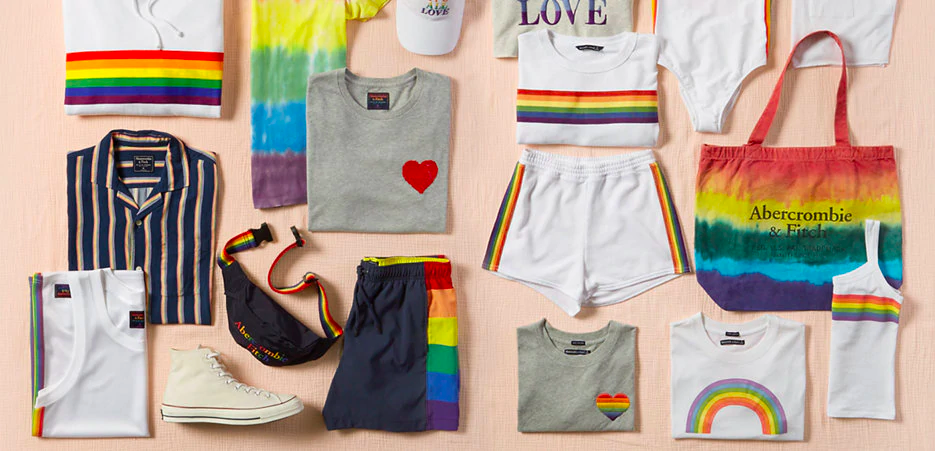 abercrombie and fitch pride collection 2019