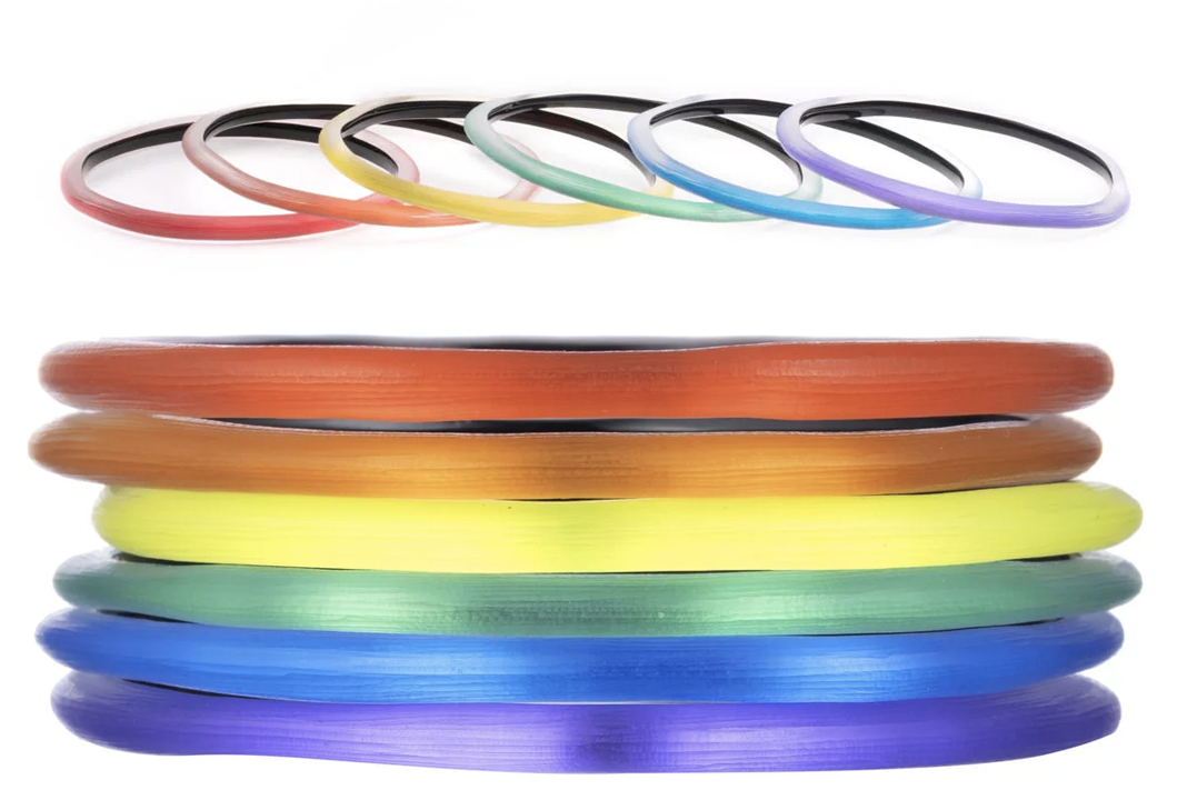 alexis bittar pride rainbow collection bangles 2019