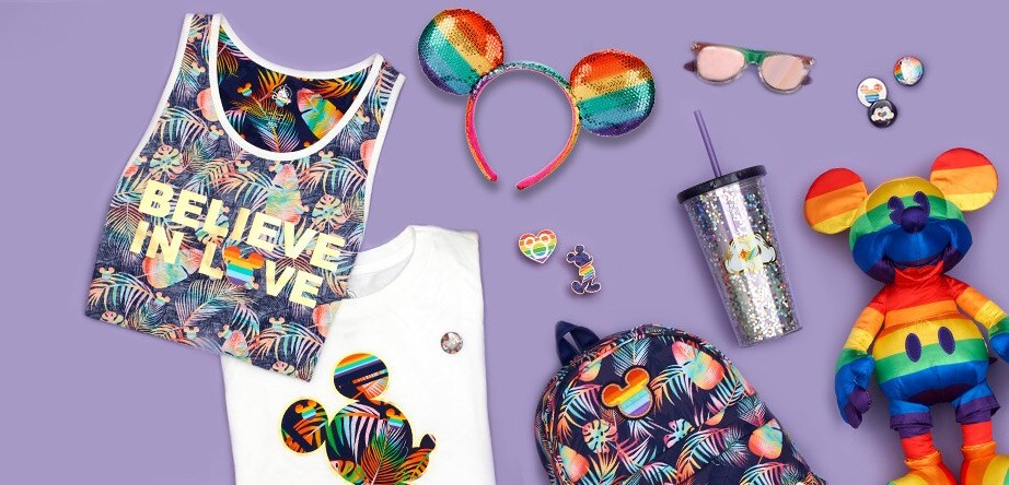 disney pride rainbow collection 2019