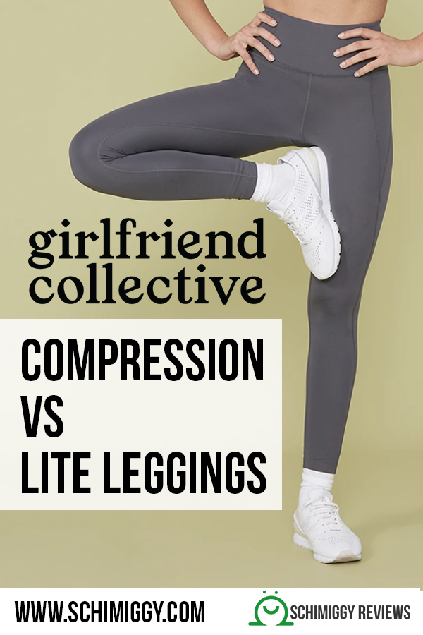 girlfriend collective compression versus lite leggings whats the difference