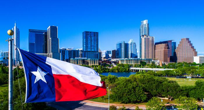 houston texas flag live and work