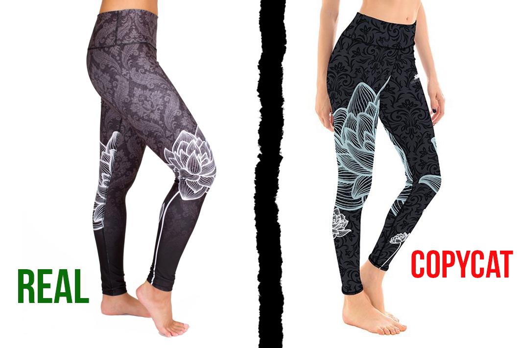 inner fire vs lotus leggings copycat tights