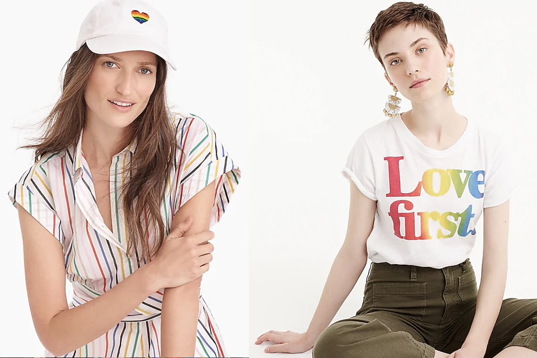 jcrew and human rights campaign hrc collection pride 2019