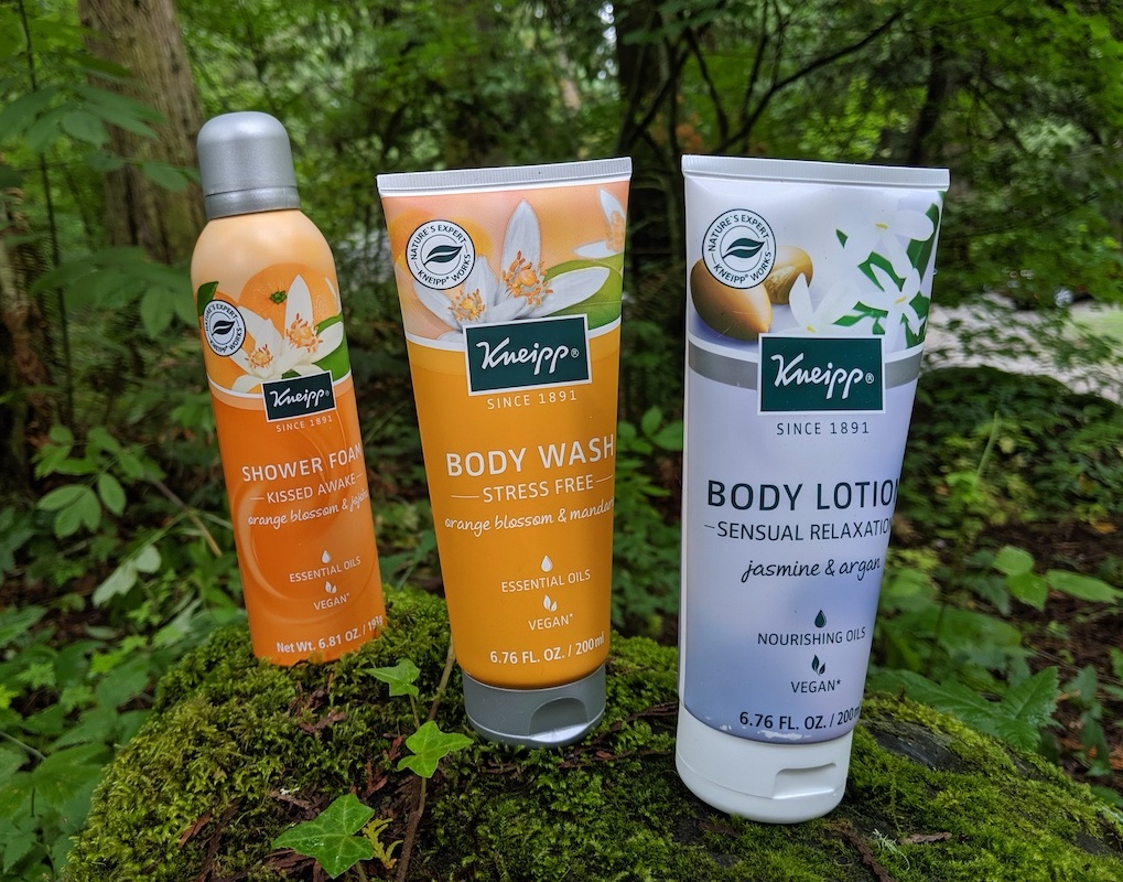 kneipp lotion and body wash for dry skin