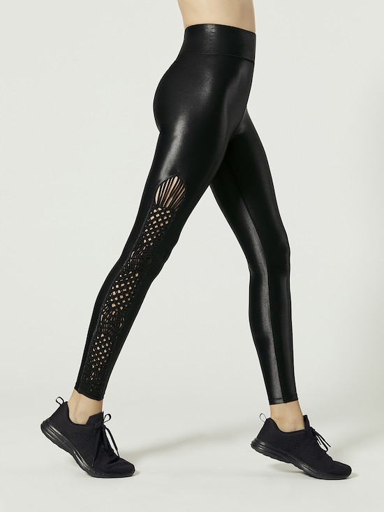 limited edition tanjung leggings black shiny tights