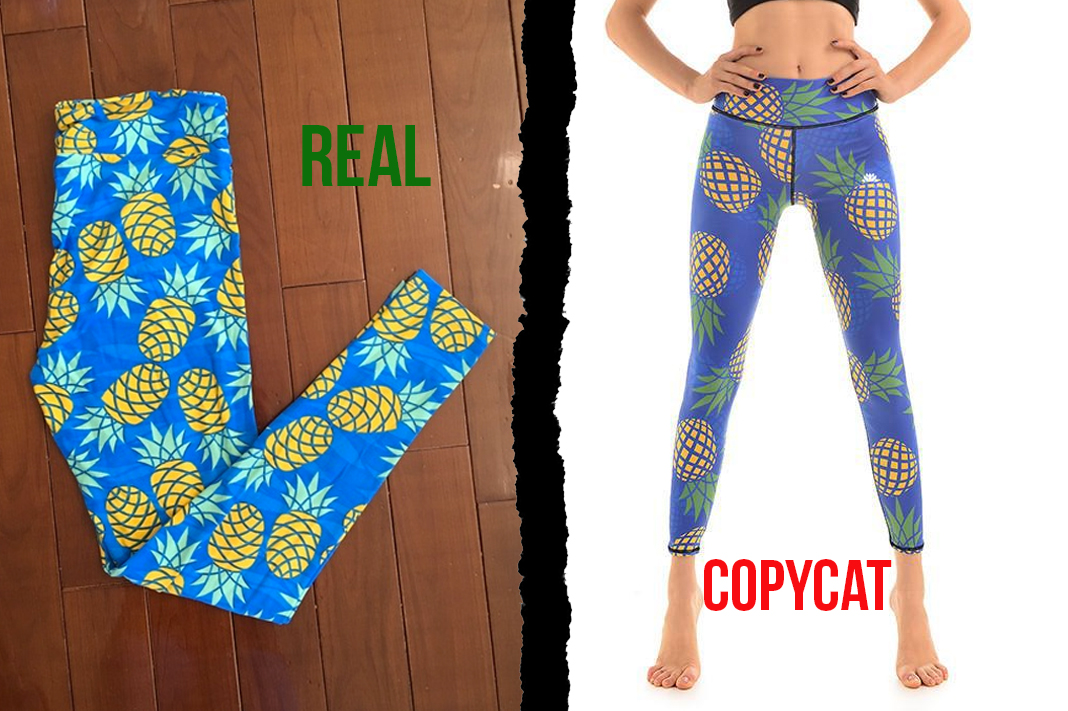 lularoe vs lotus leggings pineapple blue tights dupe