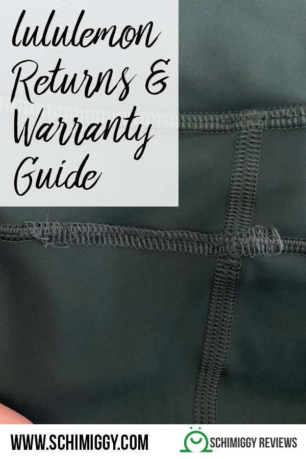 lululemon returns and warranty guide schimiggy reviews