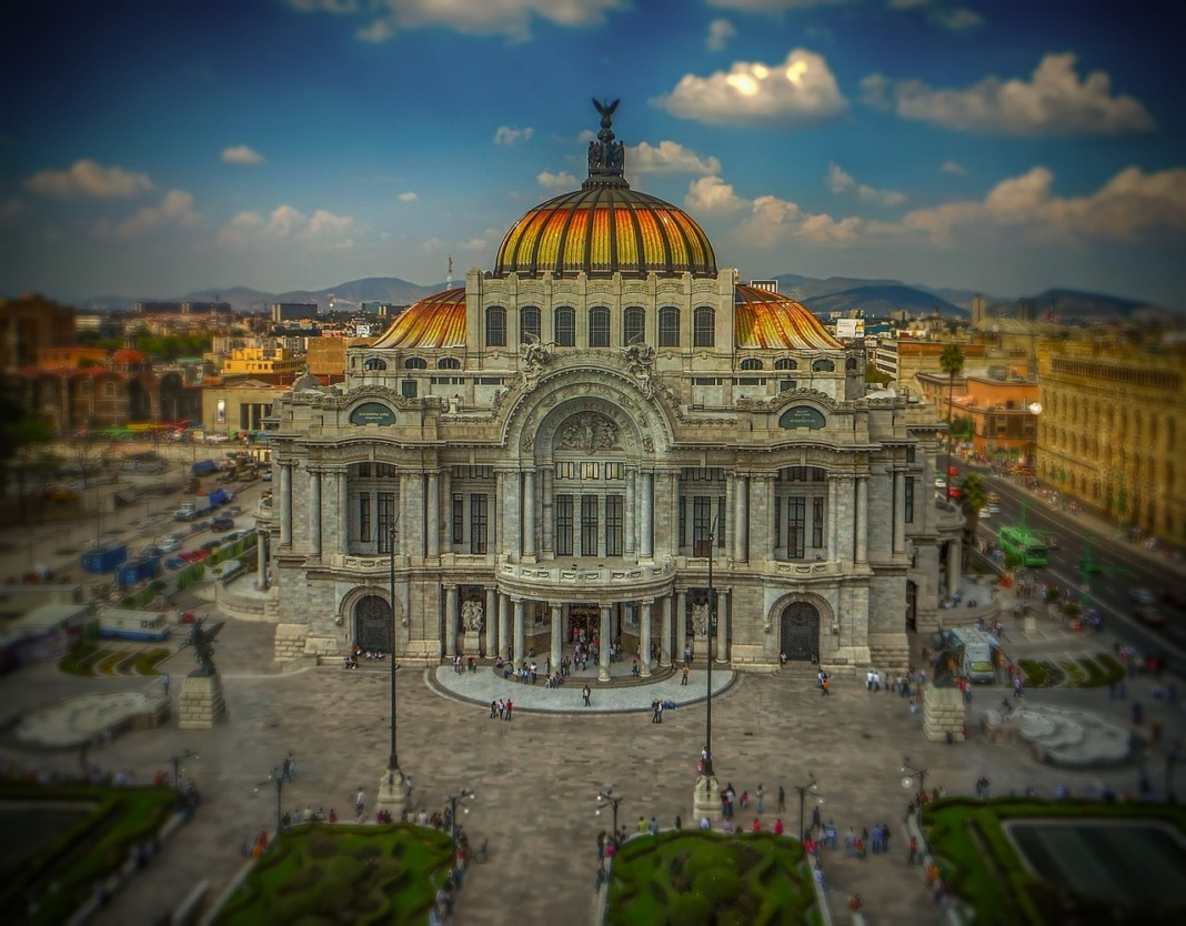 mexico city capital building
