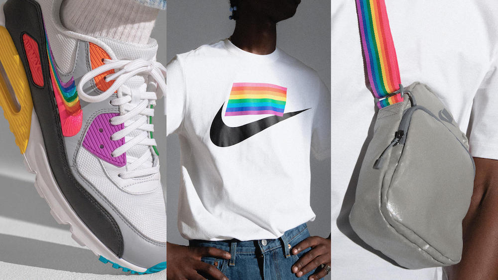 nike betrue 2019 pride collection rainbow activewear