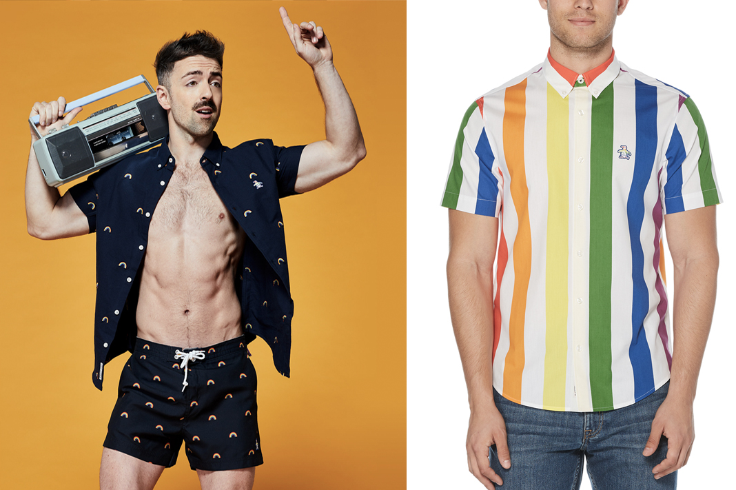 penguin pride collection 2019 rainbow mens apparel