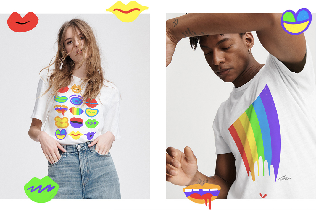 rag and bone pride rainbow collection 2019