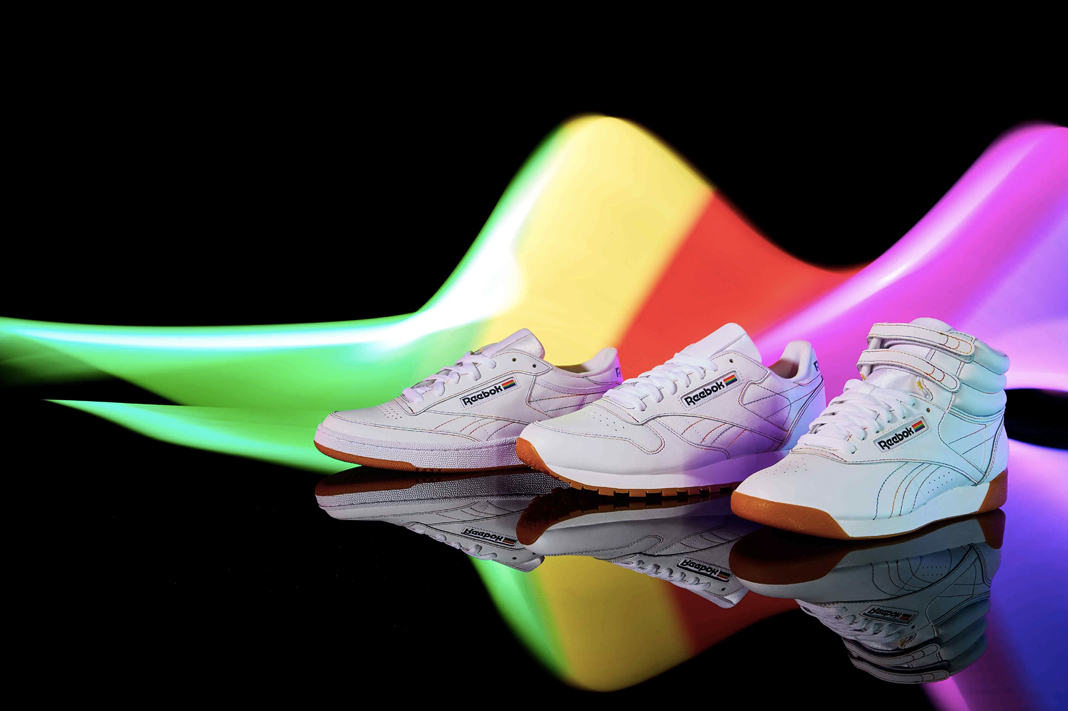reebok rainbow pride collection sneakers shoes 2019