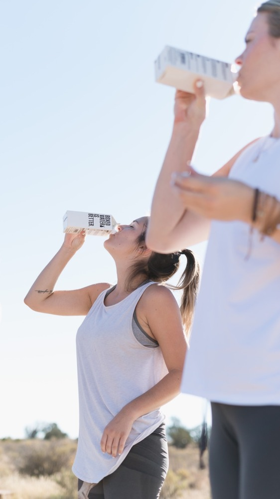 stay hydrated post workout and run