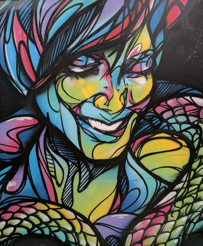 street art graffiti artist in wynwood miami