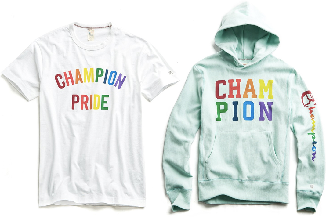 todd snyder champion pride collection 2019