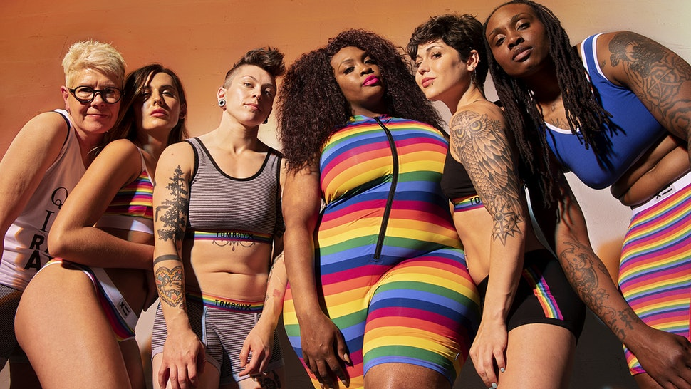 tomboyx 2019 pride rainbow collection underwear
