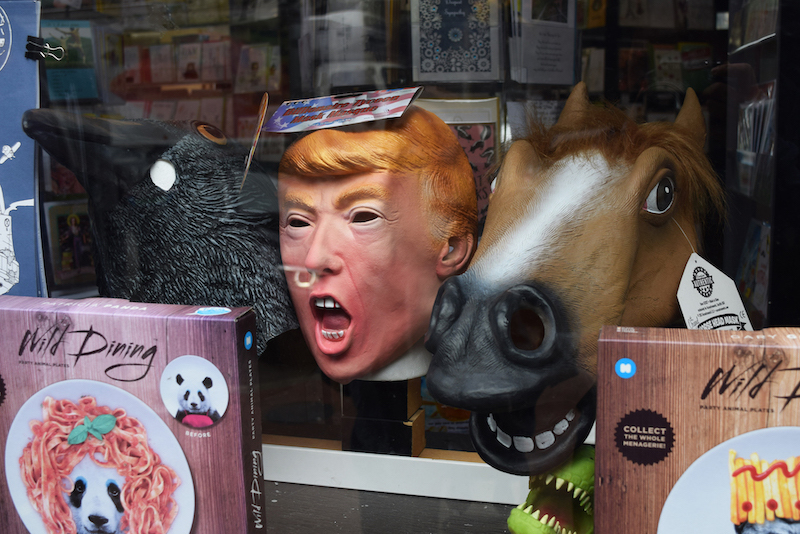 trump-mask-scary-vancouver gift shop gastown