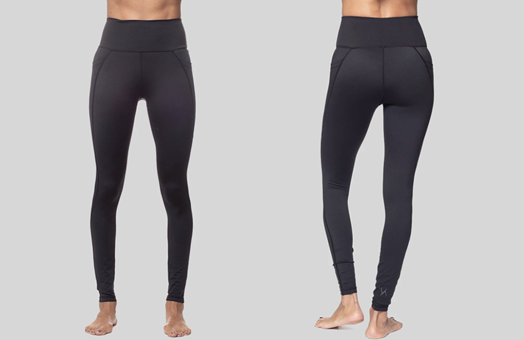 vie active lili pocket leggings in black