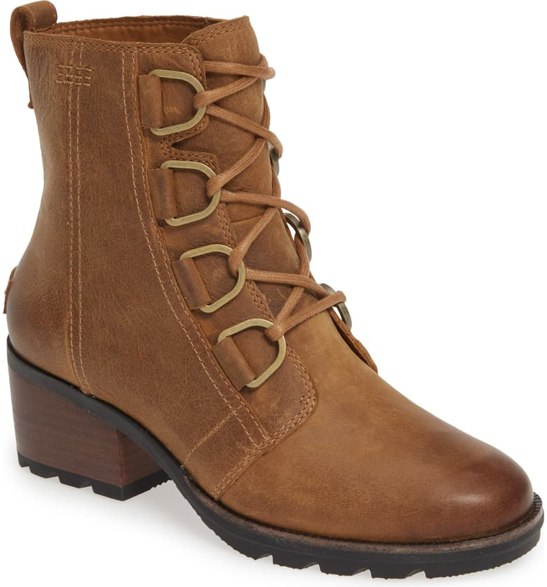 Cate Waterproof Lace-Up Boot SOREL brown nordstrom anniversary sale