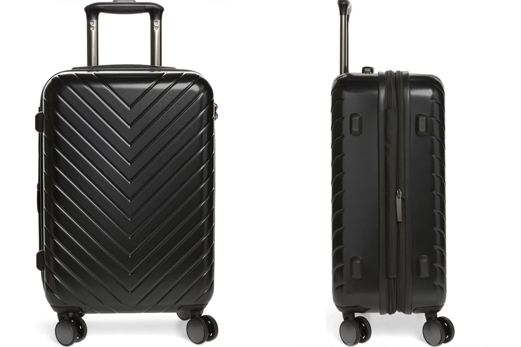 Chevron 20-Inch Spinner Carry-On NORDSTROM anniversary sale