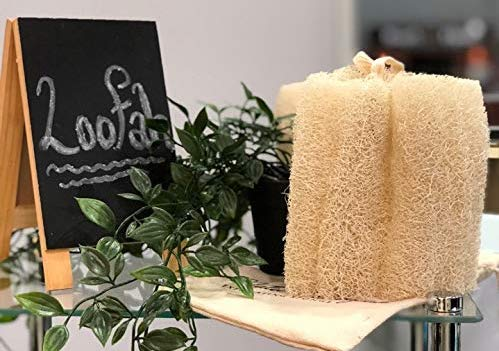 all natural loofah bath sponge