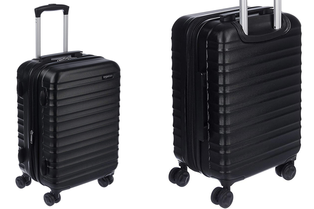 amazon basics carry on luggage review