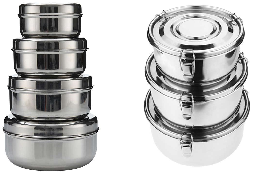 stainless steel food containers lunch box